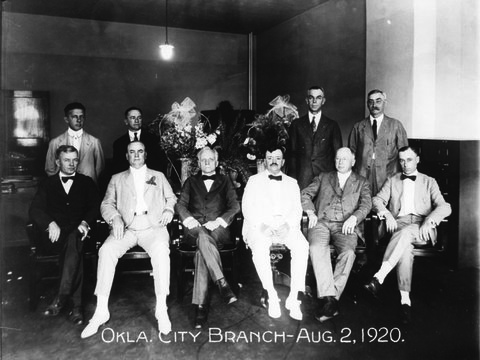 Image of 12Officers managers employees opening day.jpg
