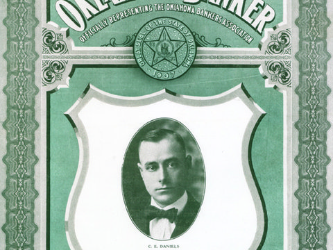 Image of 6Branch Manager CEDaniels on The Oklahoma Banker 8 1922.jpg