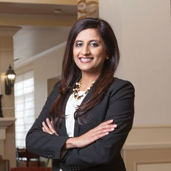Tina Patel, Chair of the Branch Board Profile Picture
