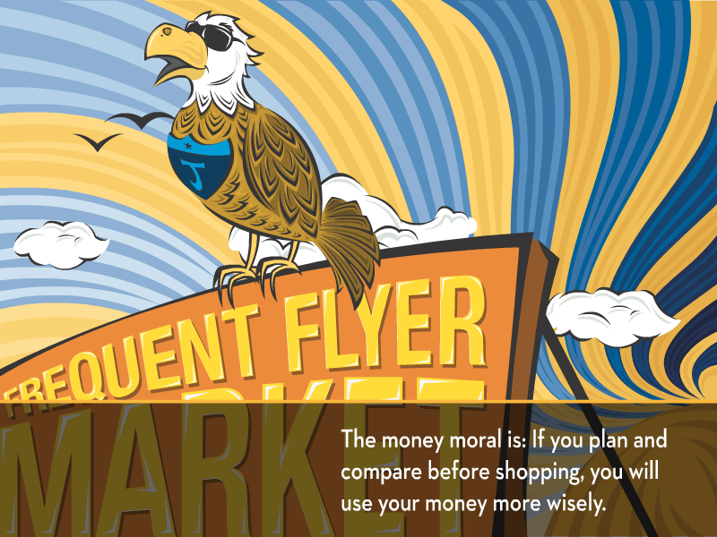 The money moral is: if you plan and compare before shopping, you will use your money more wisely.