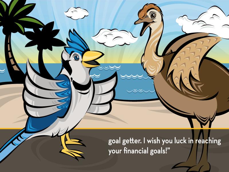 "goal setter. I wish you luck in reaching your financial goals!"""