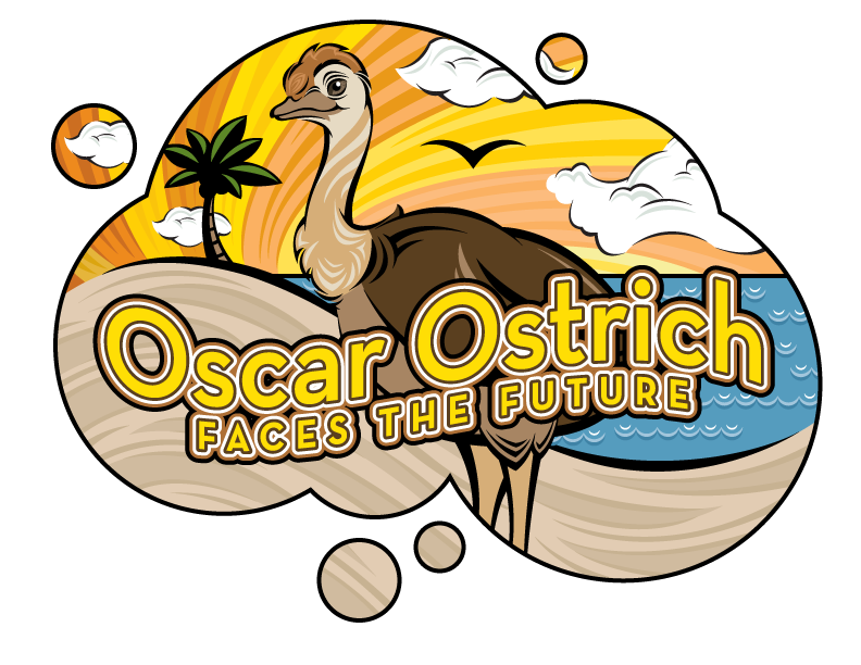 Oscar Ostrich Faces the Future