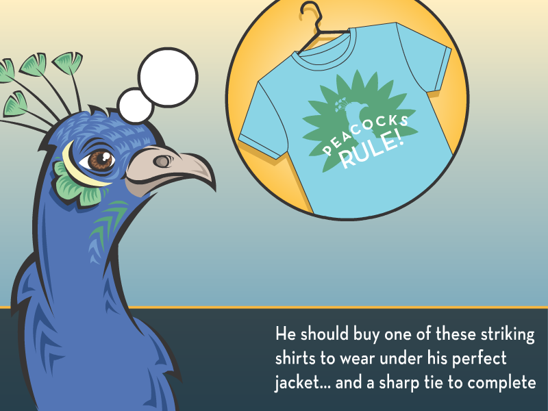 He should buy one of these striking shirts to wear under his perfect jacket…and a sharp tie to complete