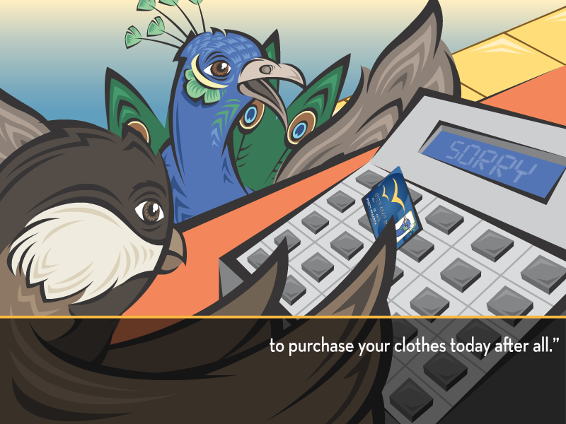 """to purchase your clothes today after all."""""""